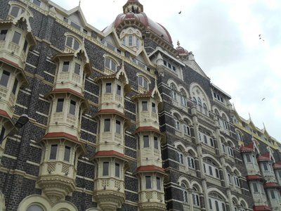 British Colonial Buildings dominate tye centre of Mumbai