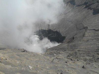 Smoking Mount Bromo
