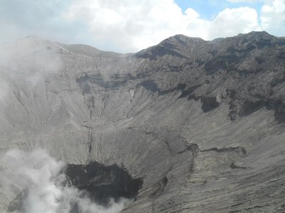 Smoke from Bromo Crater