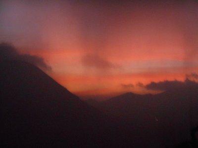 Bromo, sunset