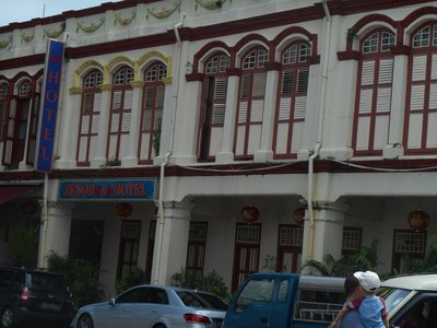 Restored Colonial Buildings
