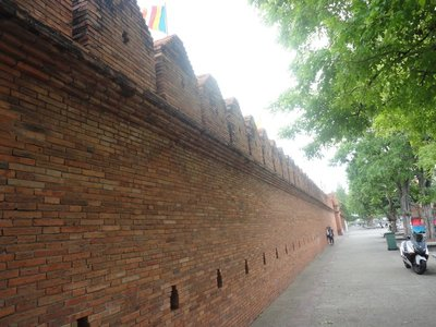 City walls, not much left of them
