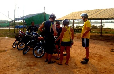 Moto training with Sabai Adventures
