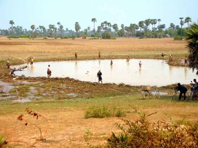 Locals working the fields