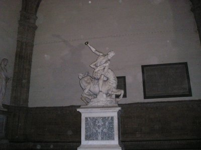 its a... statue