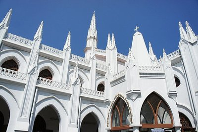 St Thomas Basilica, Mylapore, India