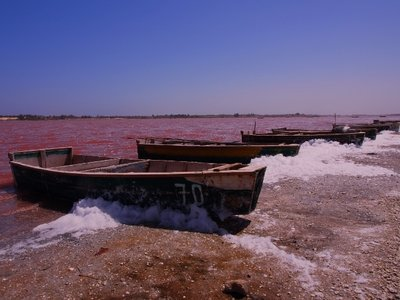 Pink Lake, Senegal