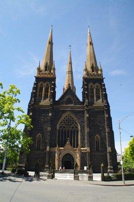 Cathédrale Saint-Patrick à Melbourne