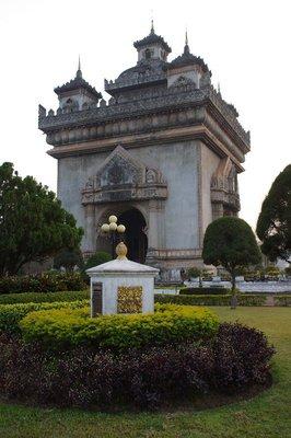 Patuxai à Vientiane