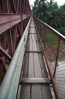 Ancien pont à Luang Prabang