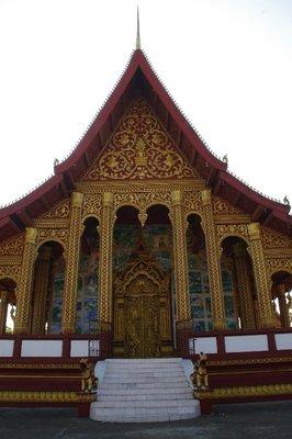 Vat Manorom à Luang Prabang
