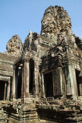 Temple Bayon à Angkor au Cambodge