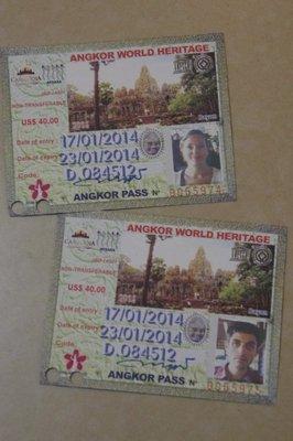 Billets pour Angkor