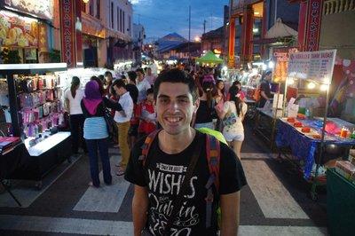 Marché de nuit de Malacca