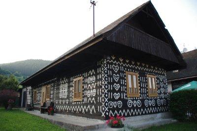 Village de Čičmany