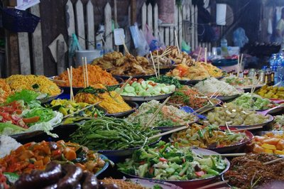 Stand à 10000 KIPà Luang Prabang