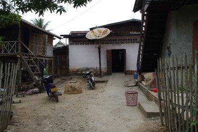 Village d'artisanat vers Luang Prabang