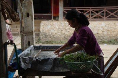 Village d'artisanat près de Luang Prabang