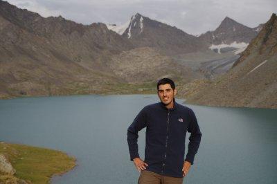 Le lac Ala Kul, à 3500m d'altitude