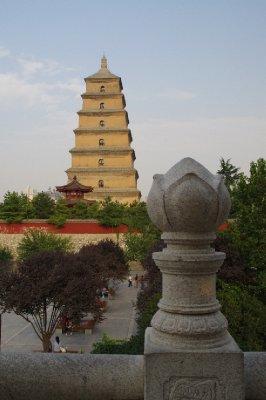 Grande pagode de l'oie sauvage