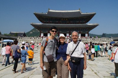Le palais Gyeongbokgung, Séoul