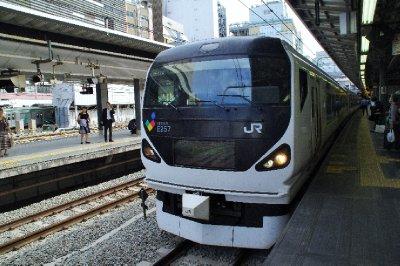 Train en gare de Matsumoto