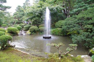Le jardin Kenrokuen à Kanazawa