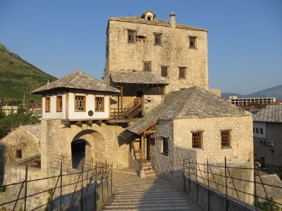 Autour du vieux pont de Mostar