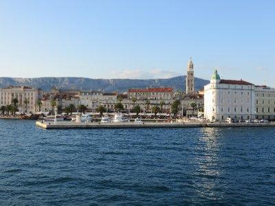 Palais de l'empereur romain Dioclétien à Split