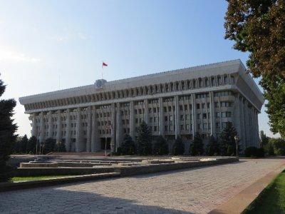 Le palais du président à Bichkek