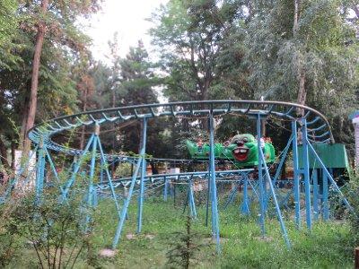 La fête foraine de Bichkek, près de la statue de Lénine !