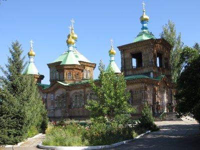 L'église Orthodoxe de Karakol