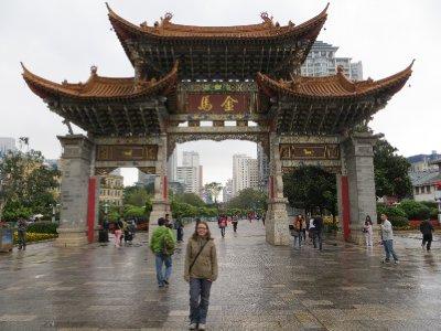 Centre-ville de Kunming