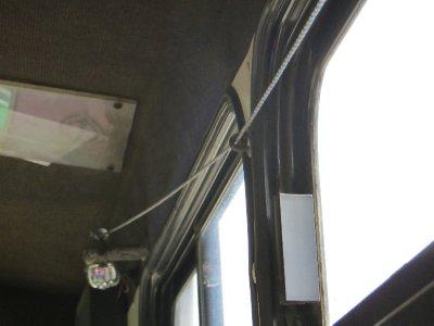 La sonnette pour demander l'arrêt du bus