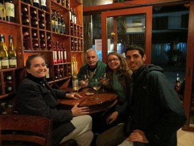 Nouvel an dans le bar à vins à Luang Prabang