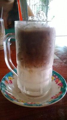 Café cambodgien avec lait concentré