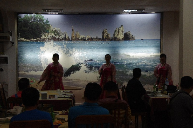 Restaurant nord-coréen à Vientiane au Laos