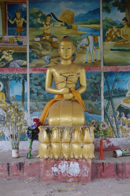 Vat Phu Si à Luang Prabang