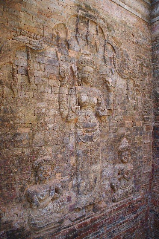 Temple Prasat Kravan à Angkor au Cambodge