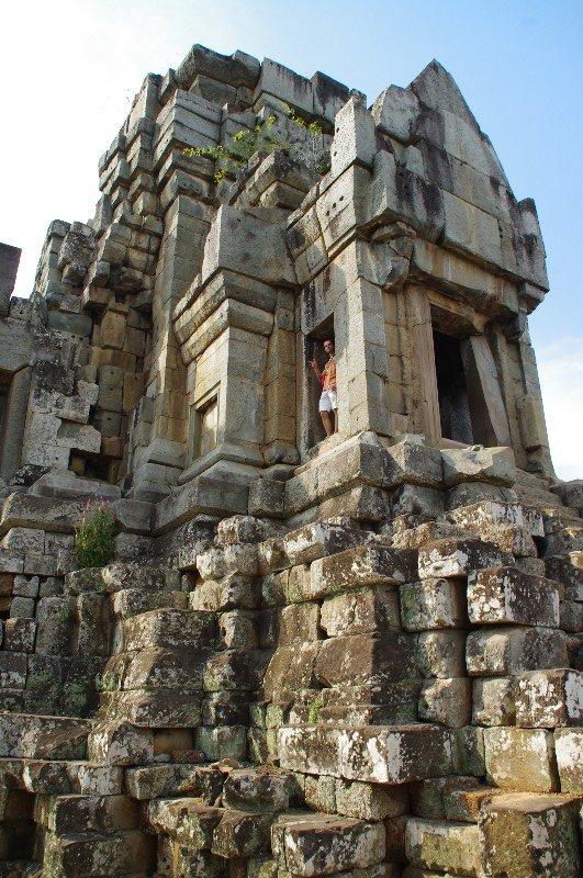 Temple Ta Keo à Angkor au Cambodge