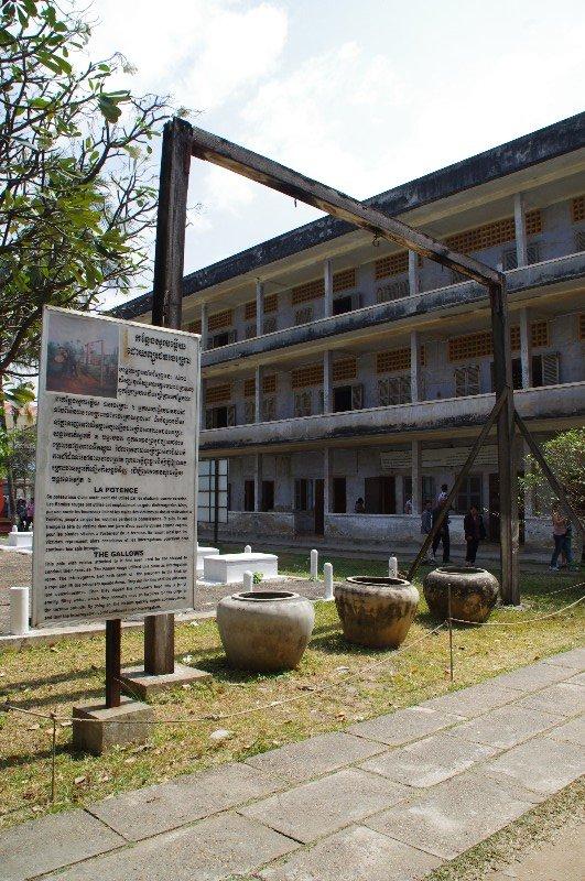 Musée du génocide à Phnom Pehn au Cambodge