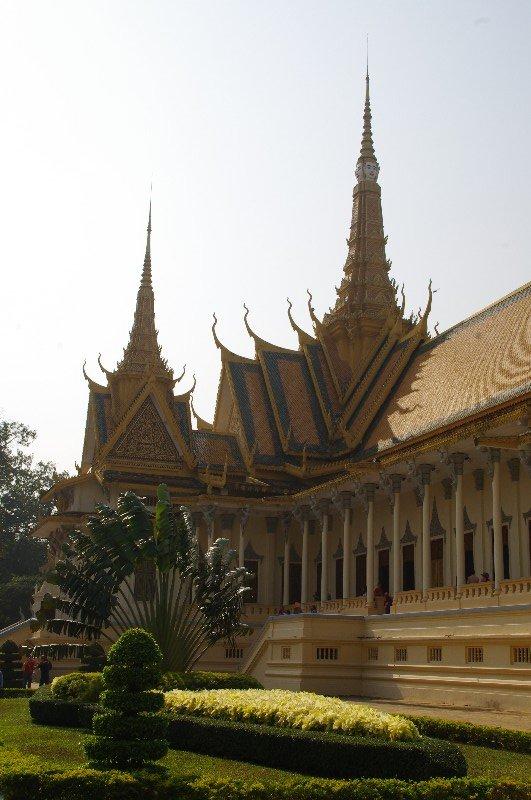 Palais royal de Phnom Pehn au Cambodge
