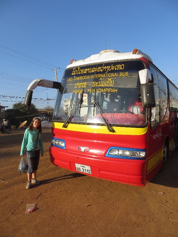 Bus Laos-Cambodge