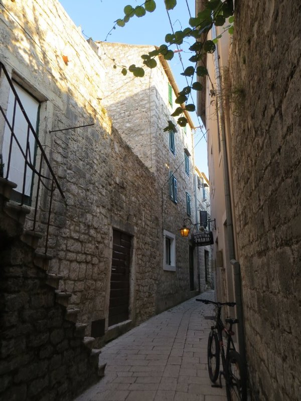Ville de Stari Grad sur lîle de Hvar