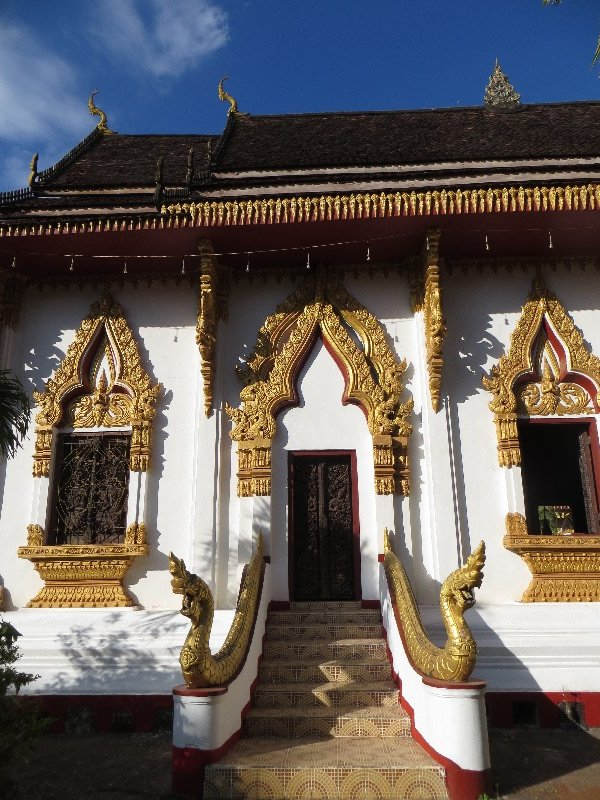 le Vat Luang à Paksé