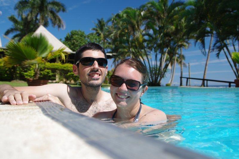 Piscine hôtel Coral Coast