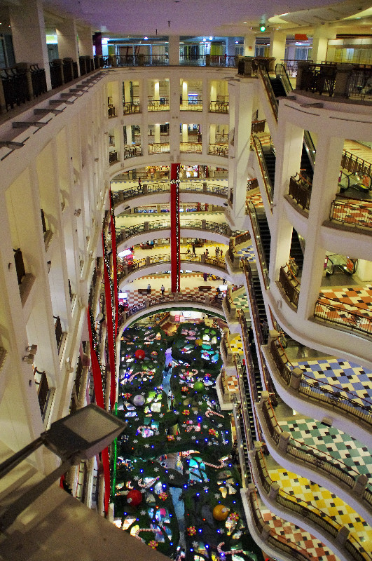 Centre commercial à Kuala Lumpur