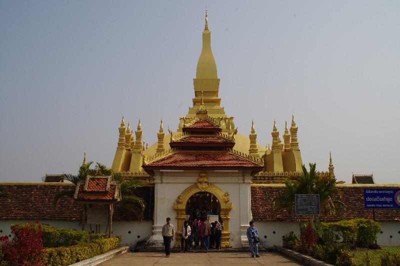 Pha That Luang à Vientiane