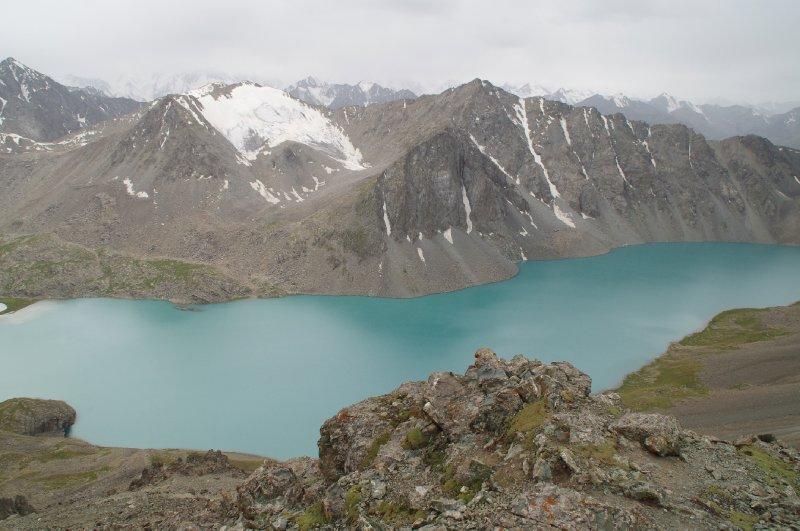 Le lac Ala-Kul, à 3500m d'altitude