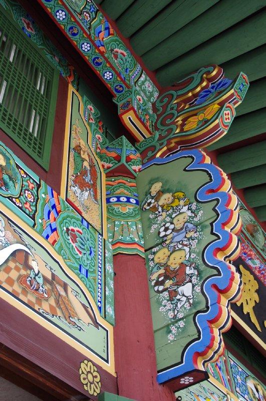 Temple bouddhiste Jogyesa à Séoul
